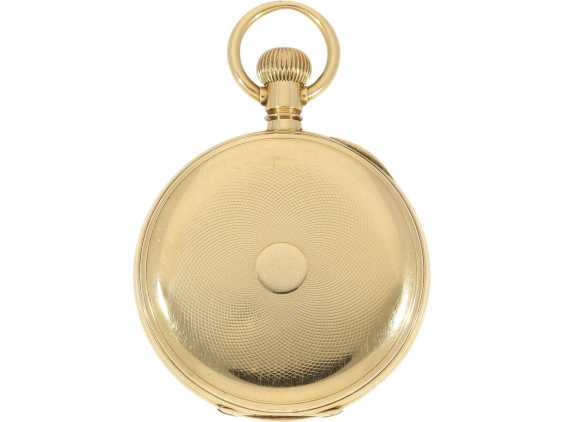 Pocket watch: very fine Patek Philippe pocket watch No. 130354, sold to Tiffany in 1905, with original box - photo 4