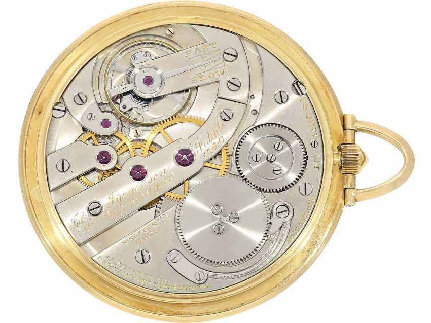 Pocket watch: rare, very fine Art Deco Frackuhr with Breguet dial, Jules Jürgensen, Copenhagen, No. 118091, CA. 1935, with original box - photo 6
