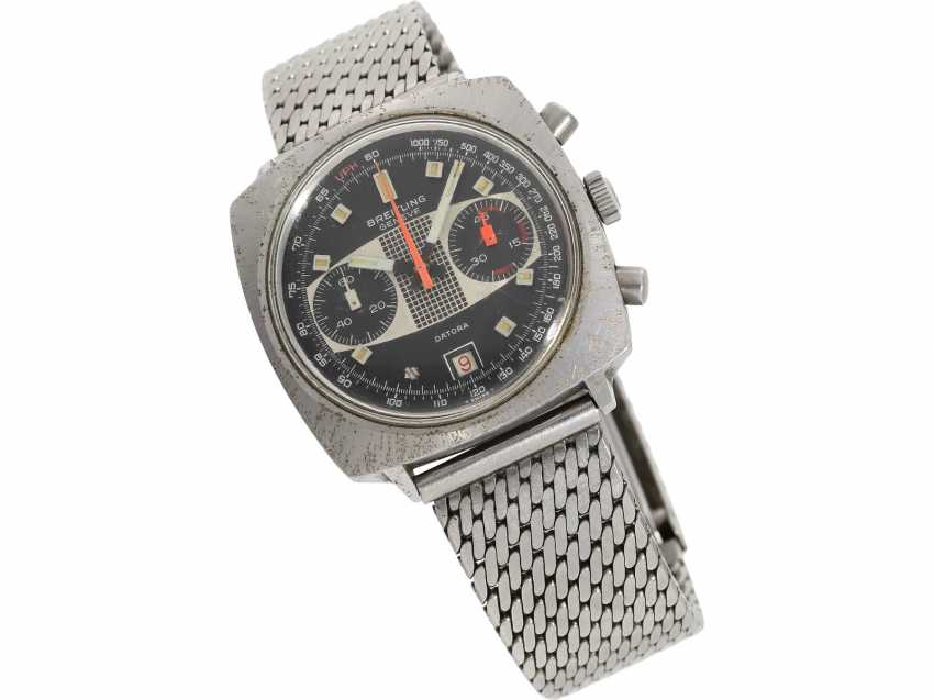 "Watch: sought-after vintage Chronograph Breitling ""Datora"" Valjoux 7734, 70s - photo 1"