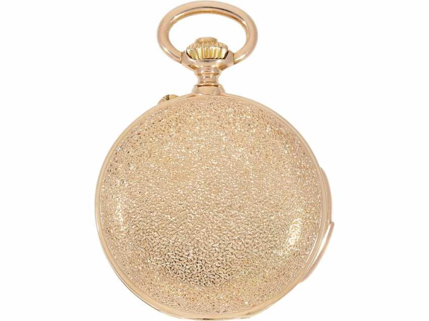 Pocket watch: extremely rare and very fine ladies watch with impact work in top-quality, caliber Louis Audemars, Verger & Cie, Paris, No. 30341, CA. 1890 - photo 3