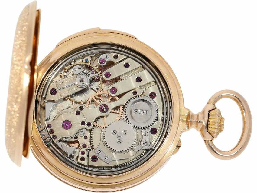 Pocket watch: extremely rare and very fine ladies watch with impact work in top-quality, caliber Louis Audemars, Verger & Cie, Paris, No. 30341, CA. 1890 - photo 4