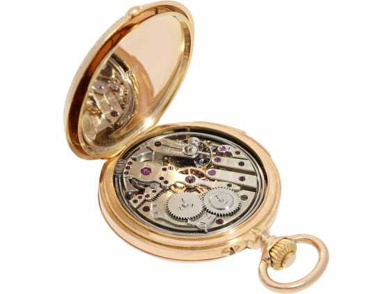 Pocket watch: extremely rare and very fine ladies watch with impact work in top-quality, caliber Louis Audemars, Verger & Cie, Paris, No. 30341, CA. 1890 - photo 5
