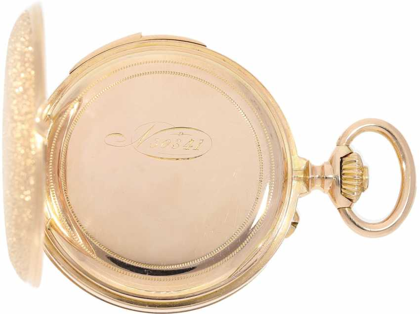 Pocket watch: extremely rare and very fine ladies watch with impact work in top-quality, caliber Louis Audemars, Verger & Cie, Paris, No. 30341, CA. 1890 - photo 7