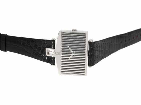 "Watch: extravagant white gold watch Corum, For Rolls, Corum ""Spirit of Ecstasy, Rolls Royce"" , Ref. 55585 ""Big-Size-Edition"" with original case and original box, CA. 1980 - photo 3"