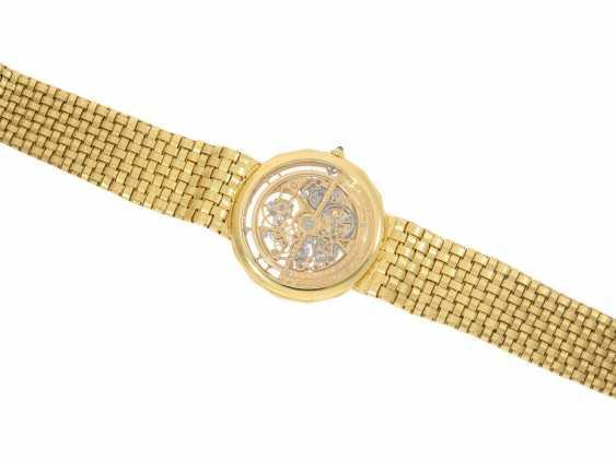 "Watch: extremely rare Vacheron & Constantin ""Skeleton"" with original diamonds, original gold band, original papers & original sheath , Ref.43502 Automatic, 1985 - photo 5"