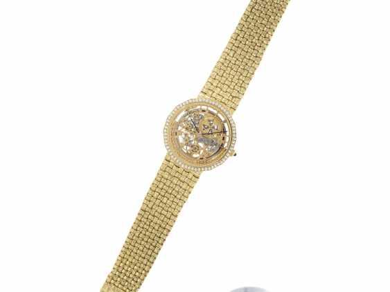 "Watch: extremely rare Vacheron & Constantin ""Skeleton"" with original diamonds, original gold band, original papers & original sheath , Ref.43502 Automatic, 1985 - photo 6"