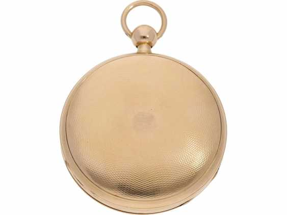 Pocket watch: very fine rose gold pocket watch with percussion and Musical movement, signed PM No. 3028, attributed to Piguet & Meylan, Geneva (1811-1828) - photo 2