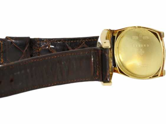 "Watch: Patek Philippe, rare, extremely rare, large and early, early, early Patek Philippe ""TORTUE"" with Art Deco Breguet dial, approx 1920 - photo 3"