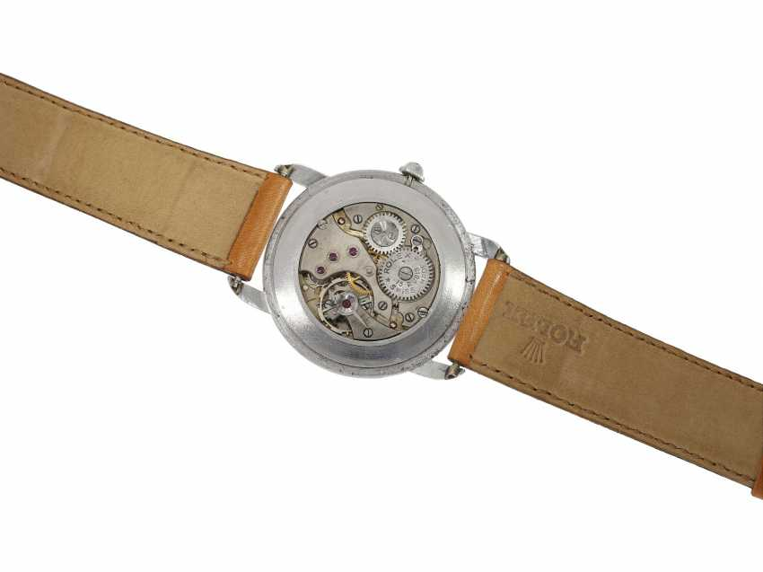 Watch: extremely rare large Rolex watch Ref. 4038, one of the rarest stainless steel models from the year 1946/47 - photo 2