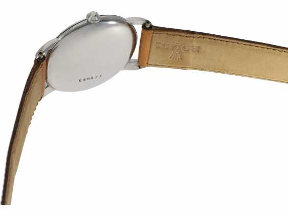 Watch: extremely rare large Rolex watch Ref. 4038, one of the rarest stainless steel models from the year 1946/47 - photo 4