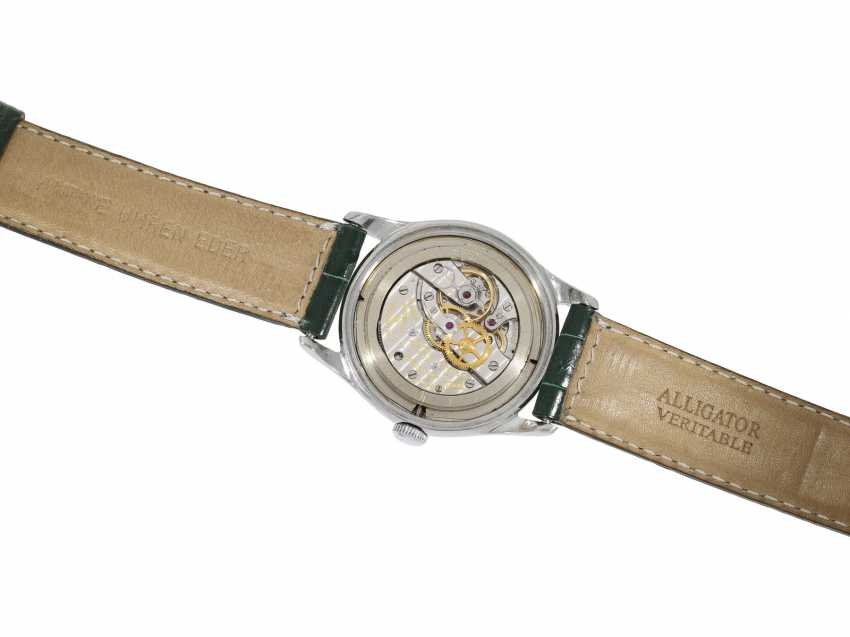 "Watch: extremely rare, early Vacheron & Constantin men's watch steel, Ref. 4310 ""GUILLOCHÉ DIAL"", Geneva in 1953, with the master excerpt from the book - photo 2"