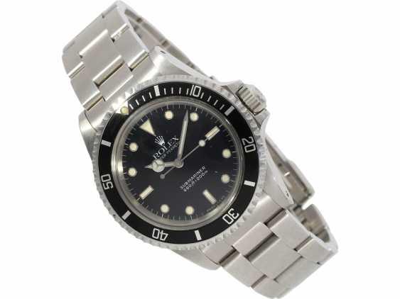 Watch: vintage Rolex Submariner Ref.5513 in very good condition - photo 1