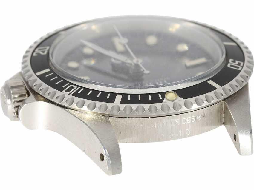 Watch: vintage Rolex Submariner Ref.5513 in very good condition - photo 5