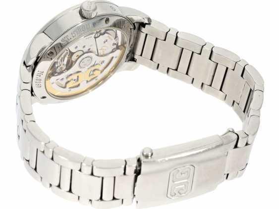 """Montre-bracelet de luxe et de très haute qualité Glashutte Stahluhr, Glashütte Original Senator phase de la Lune"""" avec Panoramadatum et Secondes-Provision, Box & Servicepapiere de 2012 - photo 2"""