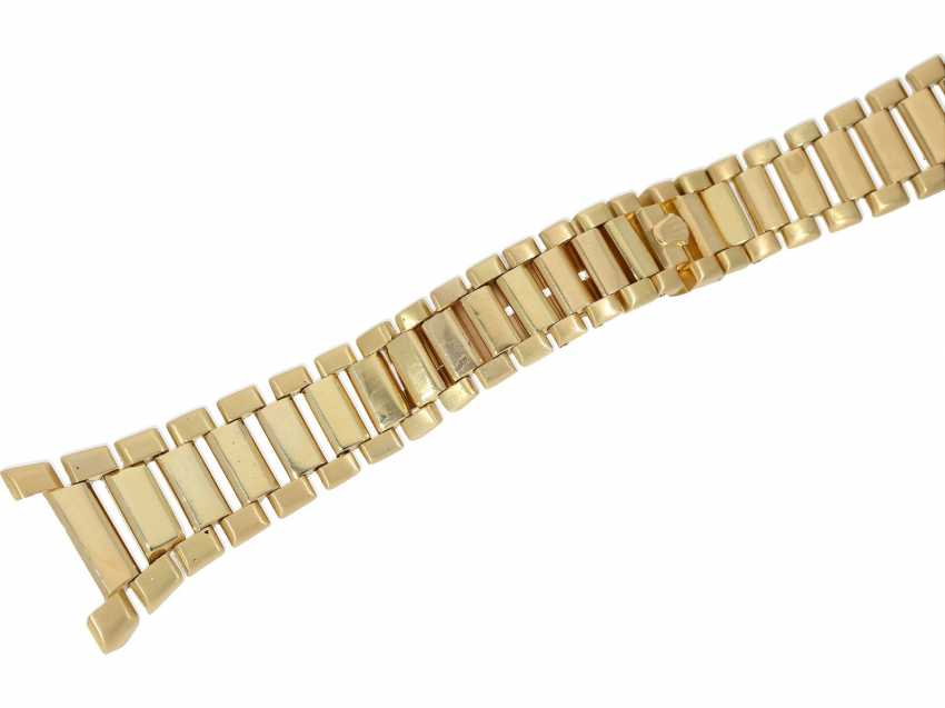 Watch: extremely rare 18K Gold Rolex oyster quartz Ref. 5100, No. 596, tuning fork factory, about 1970 - photo 8