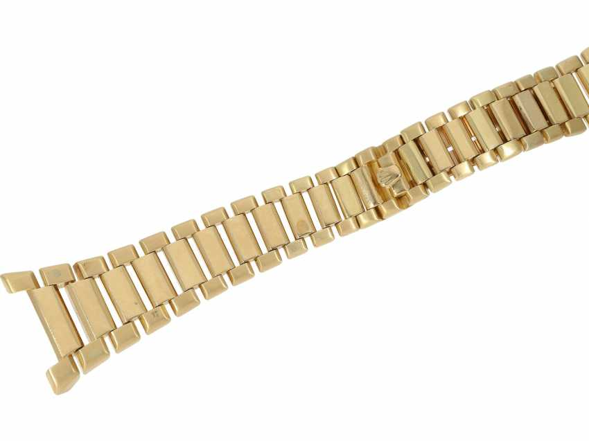 Watch: extremely rare 18K Gold Rolex oyster quartz Ref. 5100, No. 596, tuning fork factory, about 1970 - photo 9