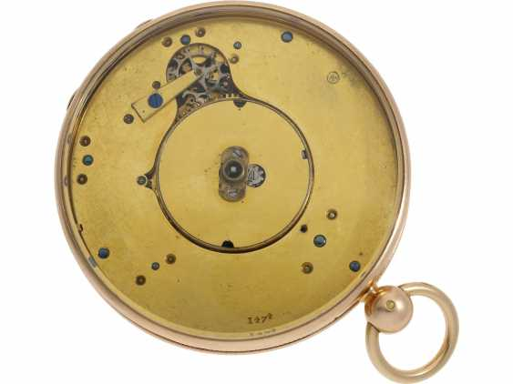 Pocket watch: a Museum, Breguet Souscription with secret signature, No. 1474/913, sold to Freres Chaudoirs on 1.1.1805 - photo 2
