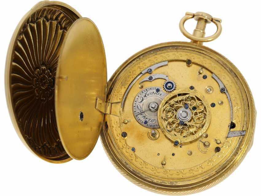 Pocket watch: figure automaton Jacquemart of particularly high-quality execution, and the Museum state of preservation, signed Breguet et Fils, Paris, CA. 1820 - photo 3