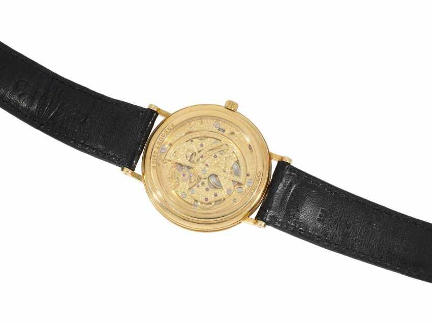 "Armbanduhr: komplizierte astronomische 18K Gold Herrenarmbanduhr Breguet ""Classique Mondphase Power Reserve"" Ref.3137 - photo 2"