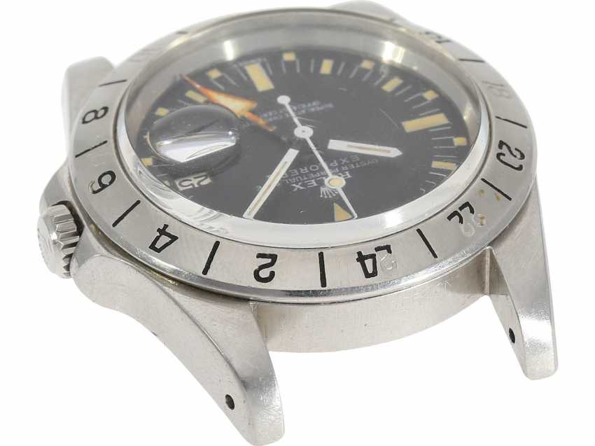 "Watch: sought-after vintage Rolex mens watch, Rolex 1655 Explorer II, 1972, 1. Series, the so-called ""Orange Hand Steve McQueen"", with original box - photo 4"