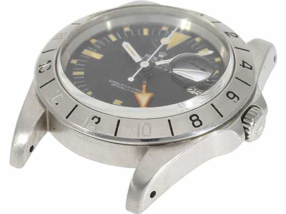 "Watch: sought-after vintage Rolex mens watch, Rolex 1655 Explorer II, 1972, 1. Series, the so-called ""Orange Hand Steve McQueen"", with original box - photo 5"