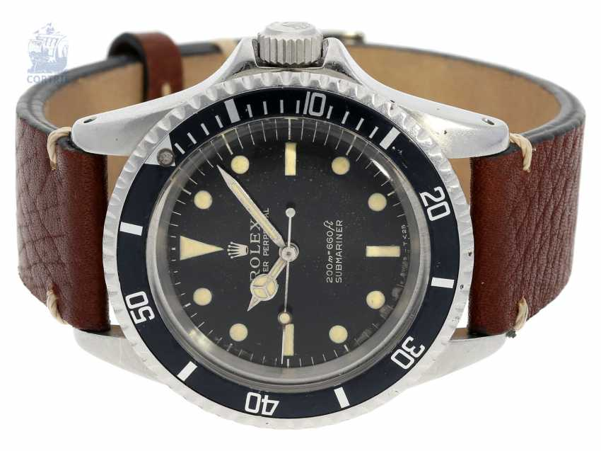 """Watch: early Rolex Submariner """"Meters First"""" Dial Ref. 5513, from 1966 with original box and Booklet - photo 10"""