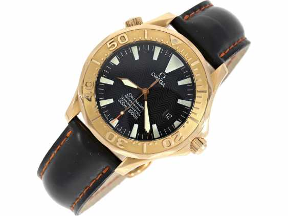 """Wrist watch: high quality and luxury Omega diver's watch, Omega """"Seamaster 300M CHRONOMETER"""", Ref. 2636.50.91 with original box and complete original papers of 2005 - photo 3"""