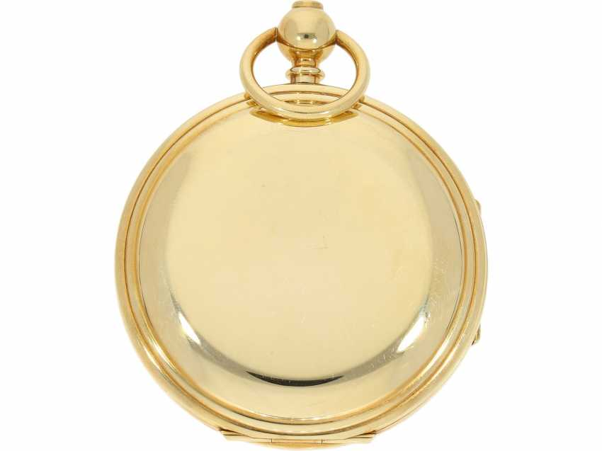 """Pocket watch: extremely rare limited edition IWC """"Cabriolet - Convertible"""" Ref. 5410 with Golden original keys, original box and original papers, No. 250/250, 1979 - photo 3"""