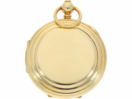 """Pocket watch: extremely rare limited edition IWC """"Cabriolet - Convertible"""" Ref. 5410 with Golden original keys, original box and original papers, No. 250/250, 1979 - photo 4"""