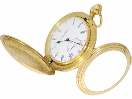 """Pocket watch: extremely rare limited edition IWC """"Cabriolet - Convertible"""" Ref. 5410 with Golden original keys, original box and original papers, No. 250/250, 1979 - photo 5"""