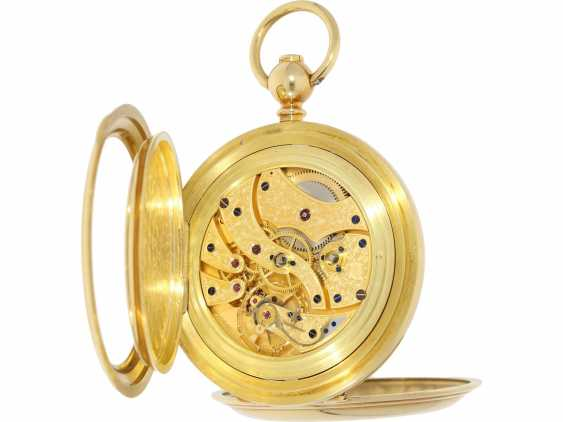 """Pocket watch: extremely rare limited edition IWC """"Cabriolet - Convertible"""" Ref. 5410 with Golden original keys, original box and original papers, No. 250/250, 1979 - photo 6"""