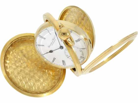 """Pocket watch: extremely rare limited edition IWC """"Cabriolet - Convertible"""" Ref. 5410 with Golden original keys, original box and original papers, No. 250/250, 1979 - photo 8"""