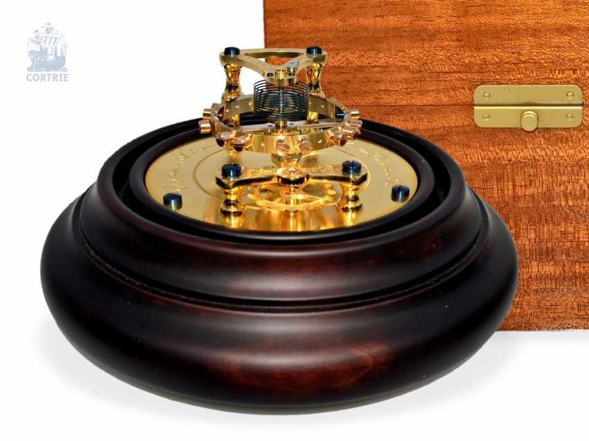 Gear model: extremely high-quality gear model, glashütte Anchor chronometer No. 28 with original box, mint, made in Glashütte, glashütte watch holdings GmbH - photo 1