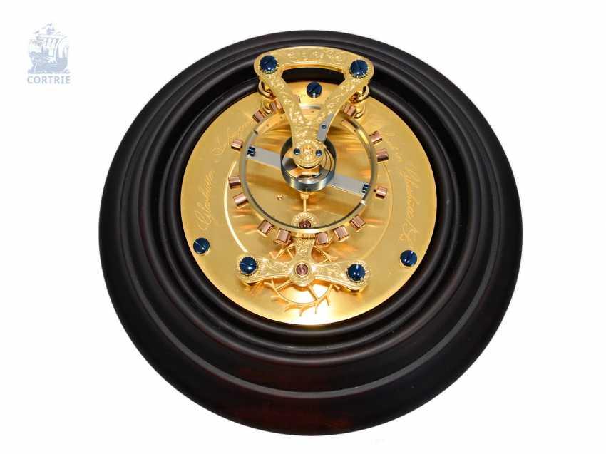 Gear model: extremely high-quality gear model, glashütte Anchor chronometer No. 28 with original box, mint, made in Glashütte, glashütte watch holdings GmbH - photo 2