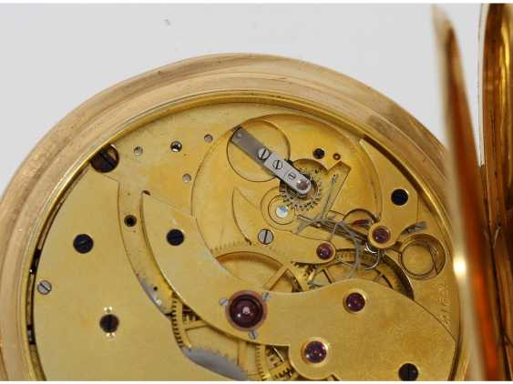 Pocket watch: a single and well-known Alexandre Hüning Observatory Chronometer special quality with design characteristics similar to the Potter-Chronometer, No. 16918, tested at the Geneva Observatory in 1900, with a Chronometer test certificate - photo 9