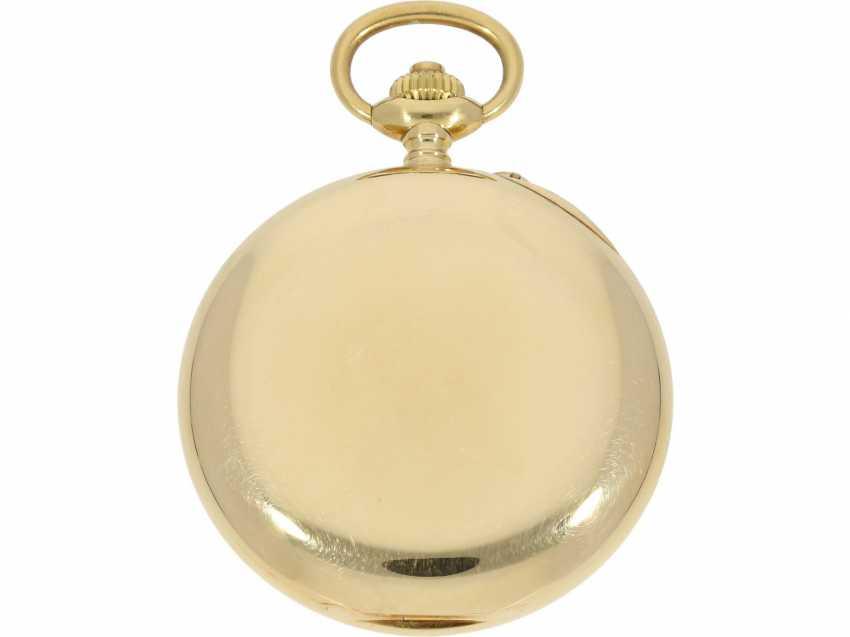 Taschenuhr: exquisites Vacheron & Constantin Ankerchronometer mit Chronograph, Doppelsignatur, Originalbox, fantastischer, neuwertiger Zustand, ca. 1920 - Foto 7