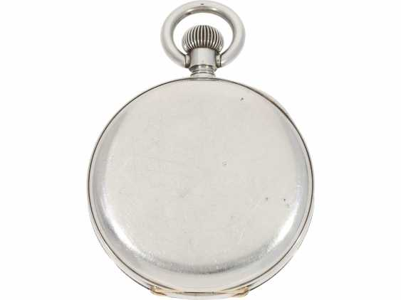 Pocket watch/Chronometer: rare and well-preserved Ulysse Nardin Observation chronometer, marine chronometer, CA. 1918, Ulysse Nardin prospectus - photo 2
