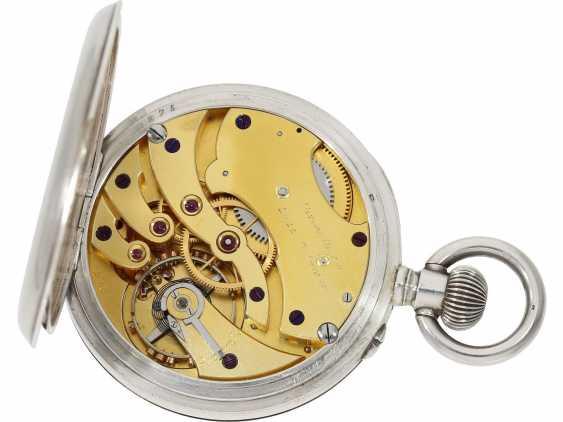 Pocket watch/Chronometer: rare and well-preserved Ulysse Nardin Observation chronometer, marine chronometer, CA. 1918, Ulysse Nardin prospectus - photo 3
