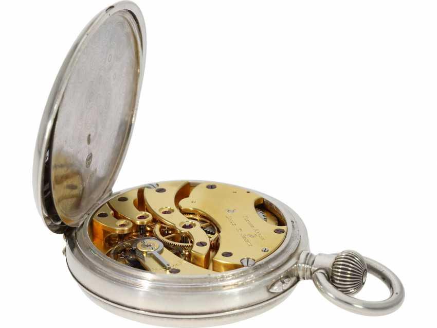 Pocket watch/Chronometer: rare and well-preserved Ulysse Nardin Observation chronometer, marine chronometer, CA. 1918, Ulysse Nardin prospectus - photo 6