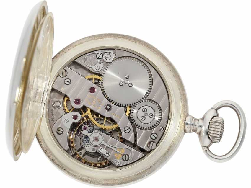 Pocket watch: heavy, almost new Observation chronometer, Vacheron & Constantin, Geneve, CA. 1943 - photo 3