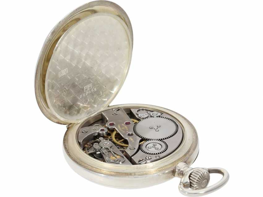 Pocket watch: heavy, almost new Observation chronometer, Vacheron & Constantin, Geneve, CA. 1943 - photo 5