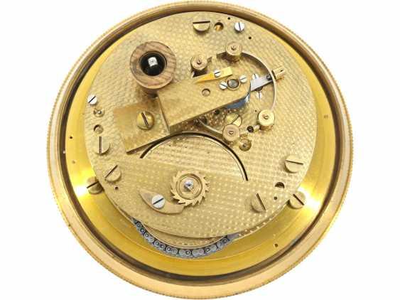 Marine chronometer: a very well-preserved, high-quality marine chronometer, Wempe Hamburg/Grießbach Glashütte No. 6727, 1958 - photo 2