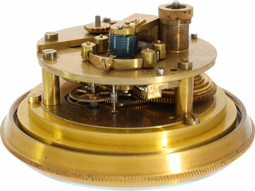 Marine chronometer: a very well-preserved, high-quality marine chronometer, Wempe Hamburg/Grießbach Glashütte No. 6727, 1958 - photo 3