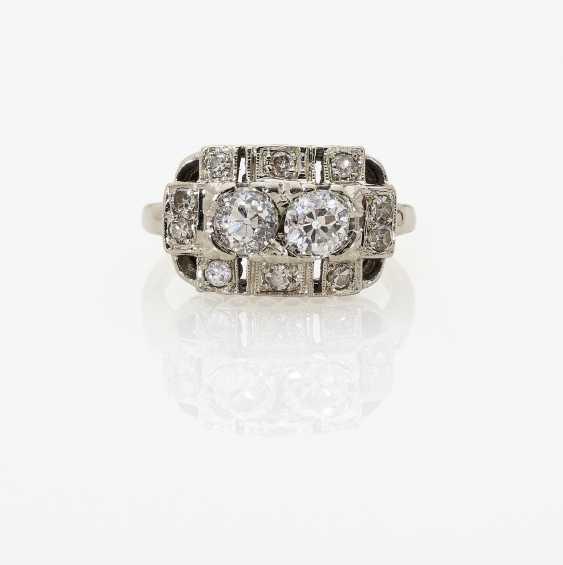 Historical Diamond Ring. USA, around 1925 - photo 1