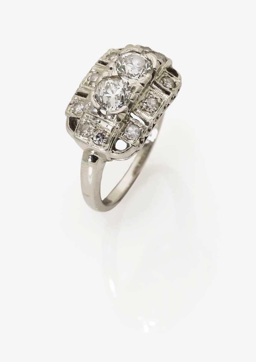 Historical Diamond Ring. USA, around 1925 - photo 2