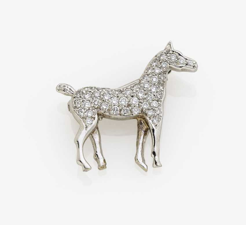 Brooch in the Form of a horse. USA, 1970s - photo 2