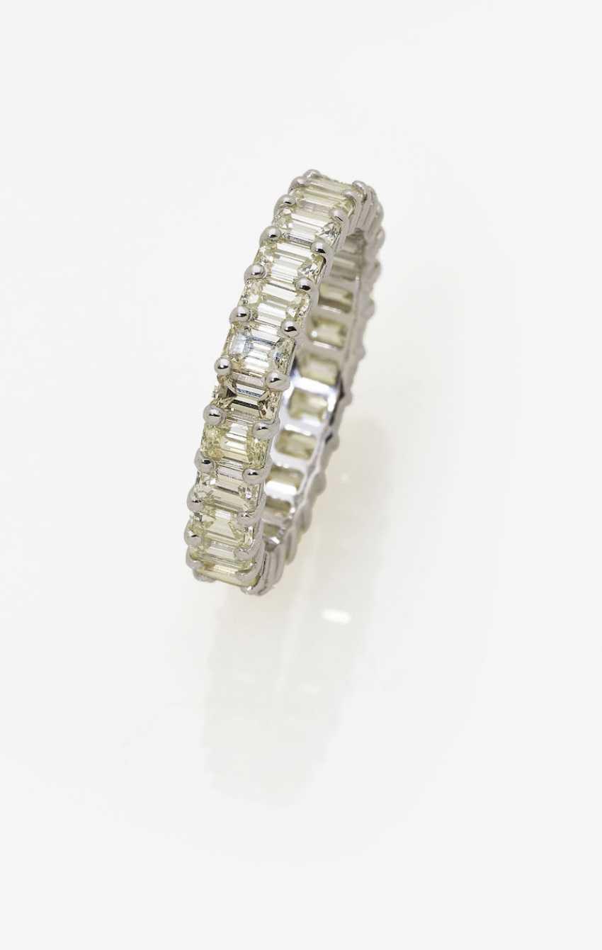Memory ring with diamonds. Antwerp, 2010 - photo 1