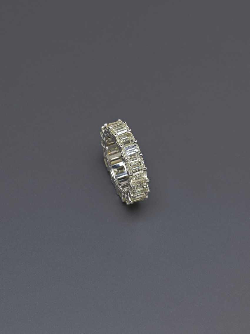 Memory ring with diamonds. Paris, 2015, GALLERY of the DIAMOND - photo 2