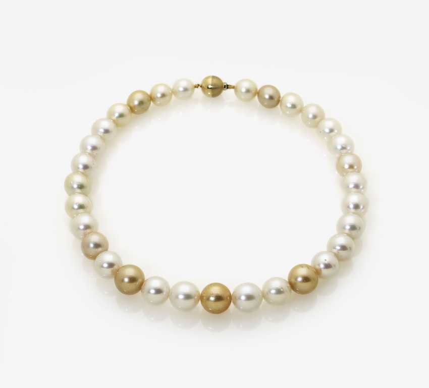 South Sea Cultured Pearl Necklace - photo 1