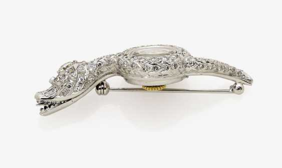 Brooch watch in the Form of a snake. Switzerland, 1950s, OMEGA - photo 2